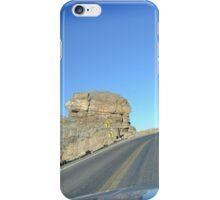 through the mountains iPhone Case/Skin