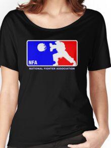 -GEEK- Street Fighter NBA Style Women's Relaxed Fit T-Shirt