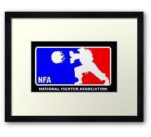 -GEEK- Street Fighter NBA Style Framed Print
