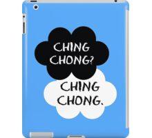 Ching Chong? Ching Chong.  iPad Case/Skin