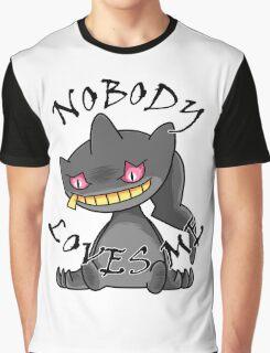 Banette - Nobody loves me (white) Graphic T-Shirt