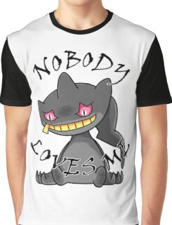 Banette - Nobody loves me (white) Graphic T-Shirt
