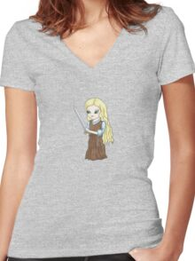 Eowyn Women's Fitted V-Neck T-Shirt