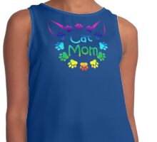 Cat Mom Contrast Tank