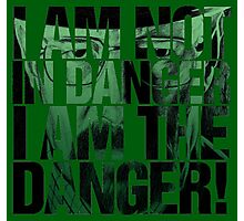 -BREAKING BAD- I Am Not The Danger  Photographic Print