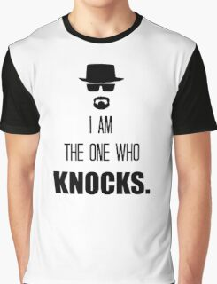 -BREAKING BAD- I Am The One Who Knocks Graphic T-Shirt