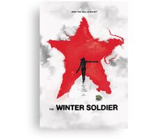 the winter soldier 2 Canvas Print