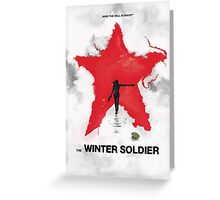 the winter soldier 2 Greeting Card