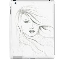 Breeze (bw) iPad Case/Skin