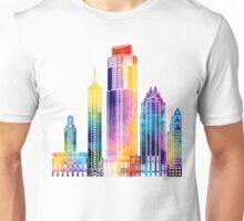 Austin landmarks watercolor poster Unisex T-Shirt