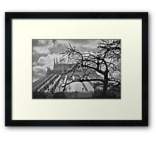 Tomorrowland Tree Framed Print