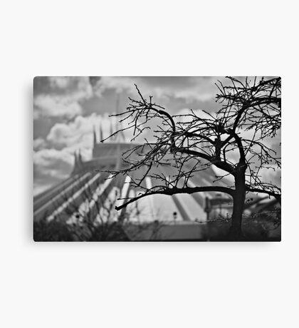 Tomorrowland Tree Canvas Print