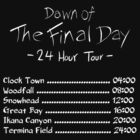 Dawn of the Final Day Official Tour Shirt by WyrmKnave