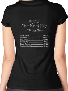 Dawn of the Final Day Official Tour Shirt Women's Fitted Scoop T-Shirt