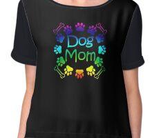 Dog Mom Chiffon Top
