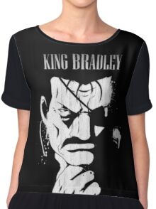 king bradley Chiffon Top