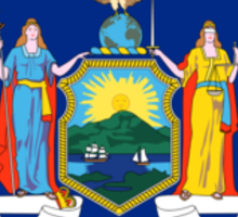 New York State Flag Sticker