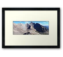 Highwood panorama I Framed Print