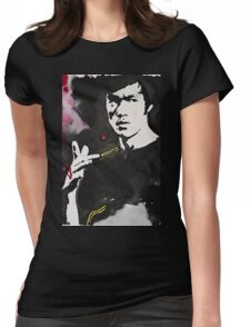 Bruce Lee Womens Fitted T-Shirt
