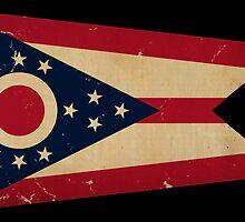Ohio State Flag VINTAGE by Carolina Swagger