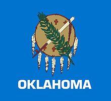 Oklahoma State Flag by Carolina Swagger