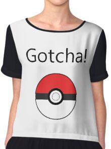 Pokemon Go - Gotcha! Chiffon Top