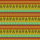 Multi Colored African Patterned Products by Vickie Emms