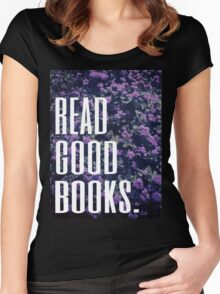 Read Good Books Women's Fitted Scoop T-Shirt