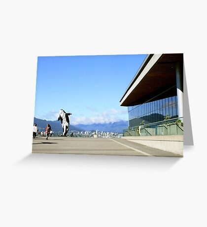 Vancouver, BC: 8-Bit Orca Greeting Card
