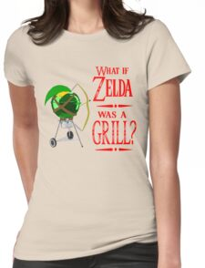 What if Zelda was a Grill? Womens Fitted T-Shirt