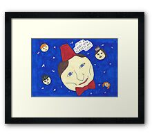 Planet Who Framed Print