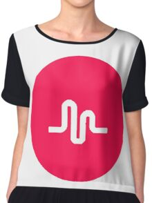 musically logo Chiffon Top