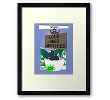 Papa Chef's Loch Ness Munchies Framed Print