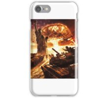 Red Alert Poster iPhone Case/Skin