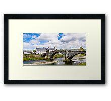 Calm River Framed Print