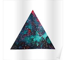 Galaxy Triangle Poster