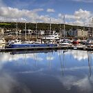 Whitehaven Marina by Jamie  Green
