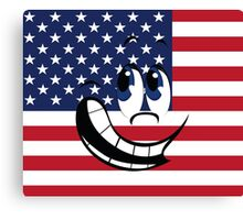 Angry American Canvas Print