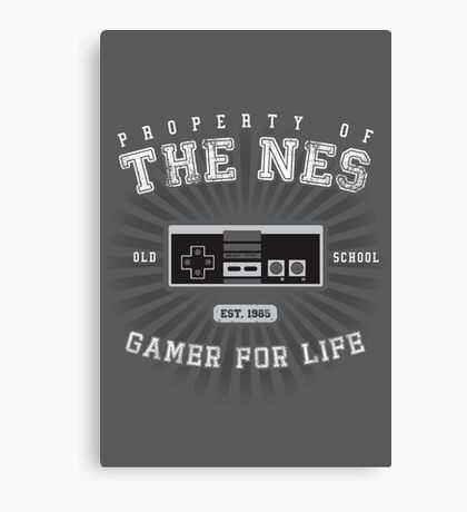 Property of the NES Canvas Print
