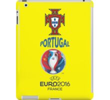 PORTUGAL 2016 iPad Case/Skin