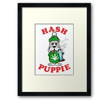 Hash Puppie Framed Print