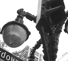 Vancouver, BC: Street Lamp at Cordova by ACImaging
