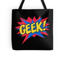 Comic book geek Tote Bag