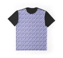 Blue star flowers Graphic T-Shirt