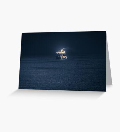 Dubrovnik Cruiser Greeting Card