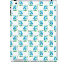 Blue Bride Pattern iPad Case/Skin
