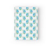 Blue Bride Pattern Hardcover Journal