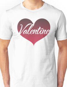 Valentine Heart Unisex T-Shirt