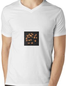 DROP BISCUITS IN THE SKY Mens V-Neck T-Shirt