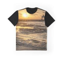 Sunrise Pier - Riviera Maya Graphic T-Shirt
